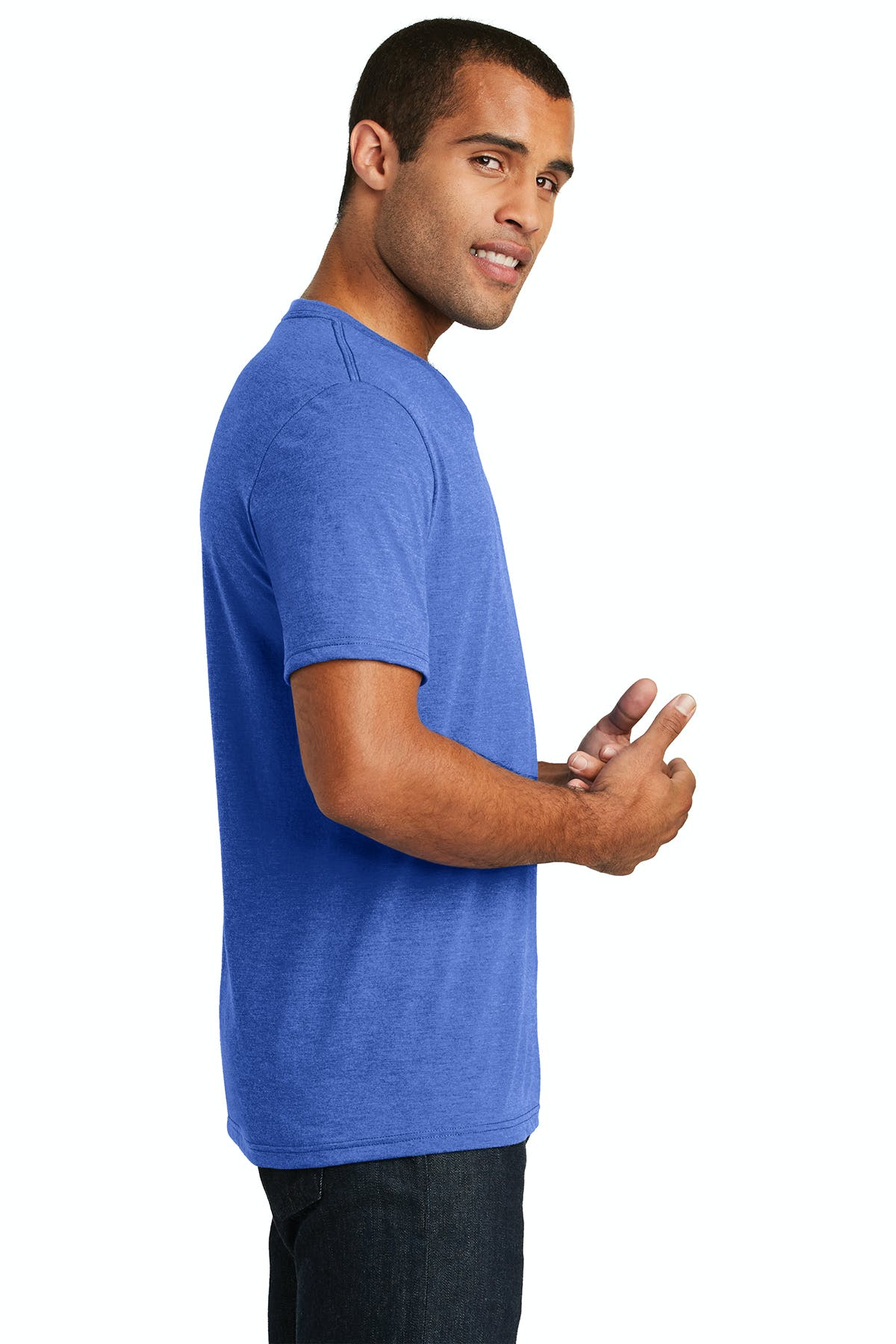 District Made®  Mens Perfect Tri® V-Neck Tee - sold by PRINT CITY GRAPHICS, INC