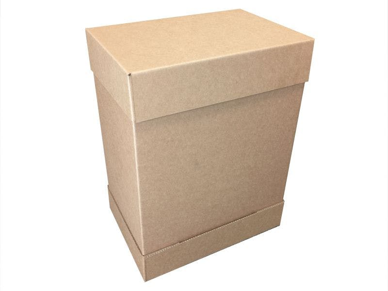 Double Cover Boxes - Corrugated Cardboard - none - sold by Cactus Corrugated Containers Inc.