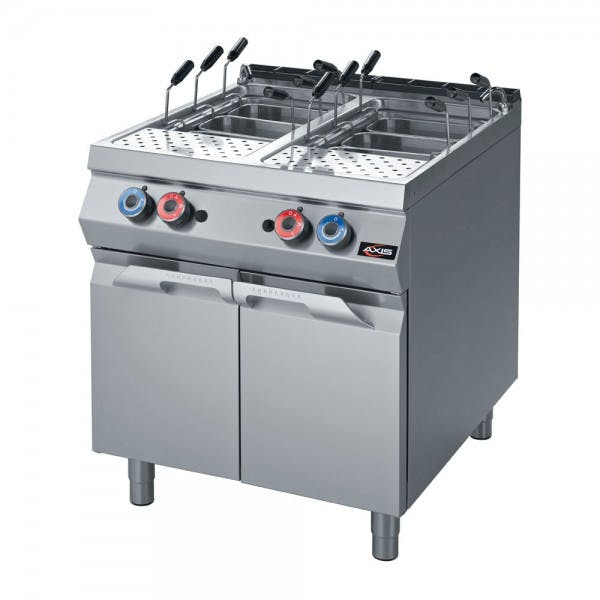 Double Tank Gas Pasta Cooker