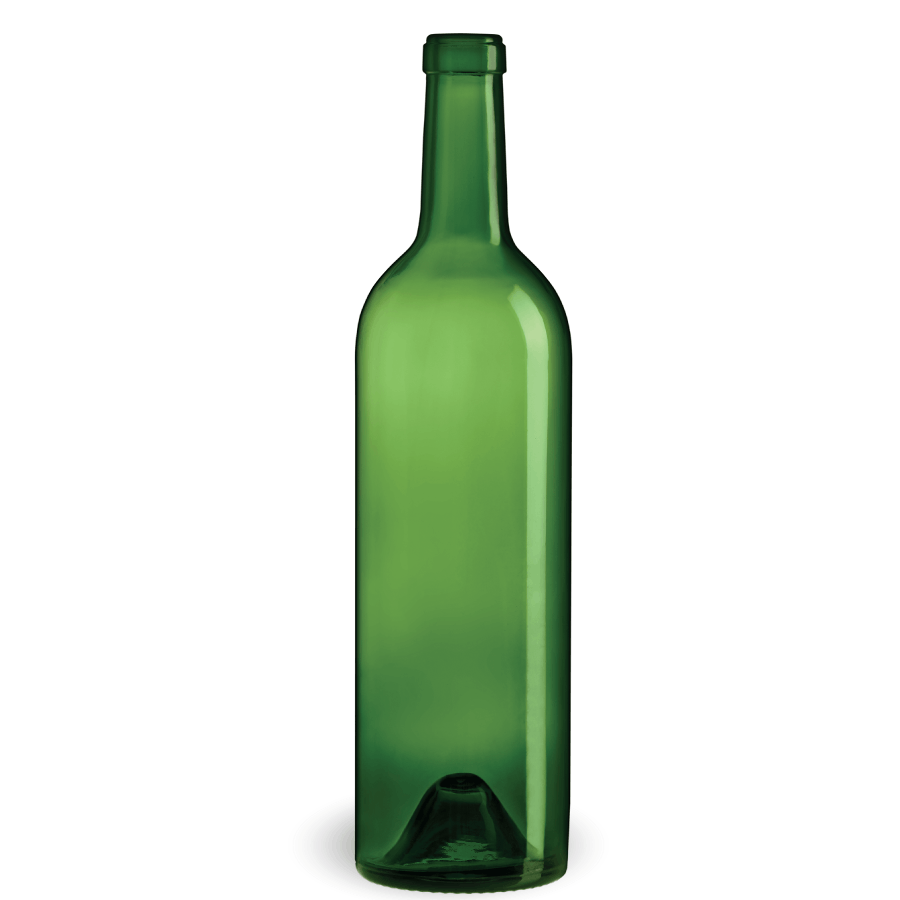 Bulk - Bordeaux Grand Vin - 750 ml - Green - PLA Wine bottle sold by BOTTLE EXPRESS LLC