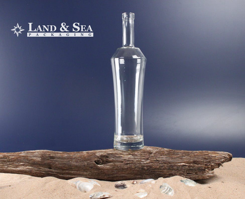Silhouette Spirit Bottle Liquor bottle sold by Land & Sea Packaging