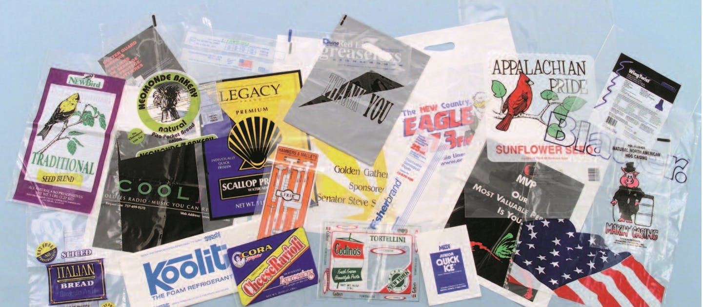 Wicketted bags, ziplock, reclosable, resealable, metallocene/eva freezer films, printed rollstock Bag sold by SPS Packaging