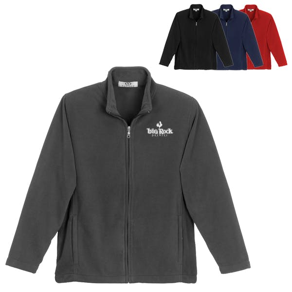Vantek Microfiber Full Zip Jacket Promotional apparel sold by MicrobrewMarketing.com