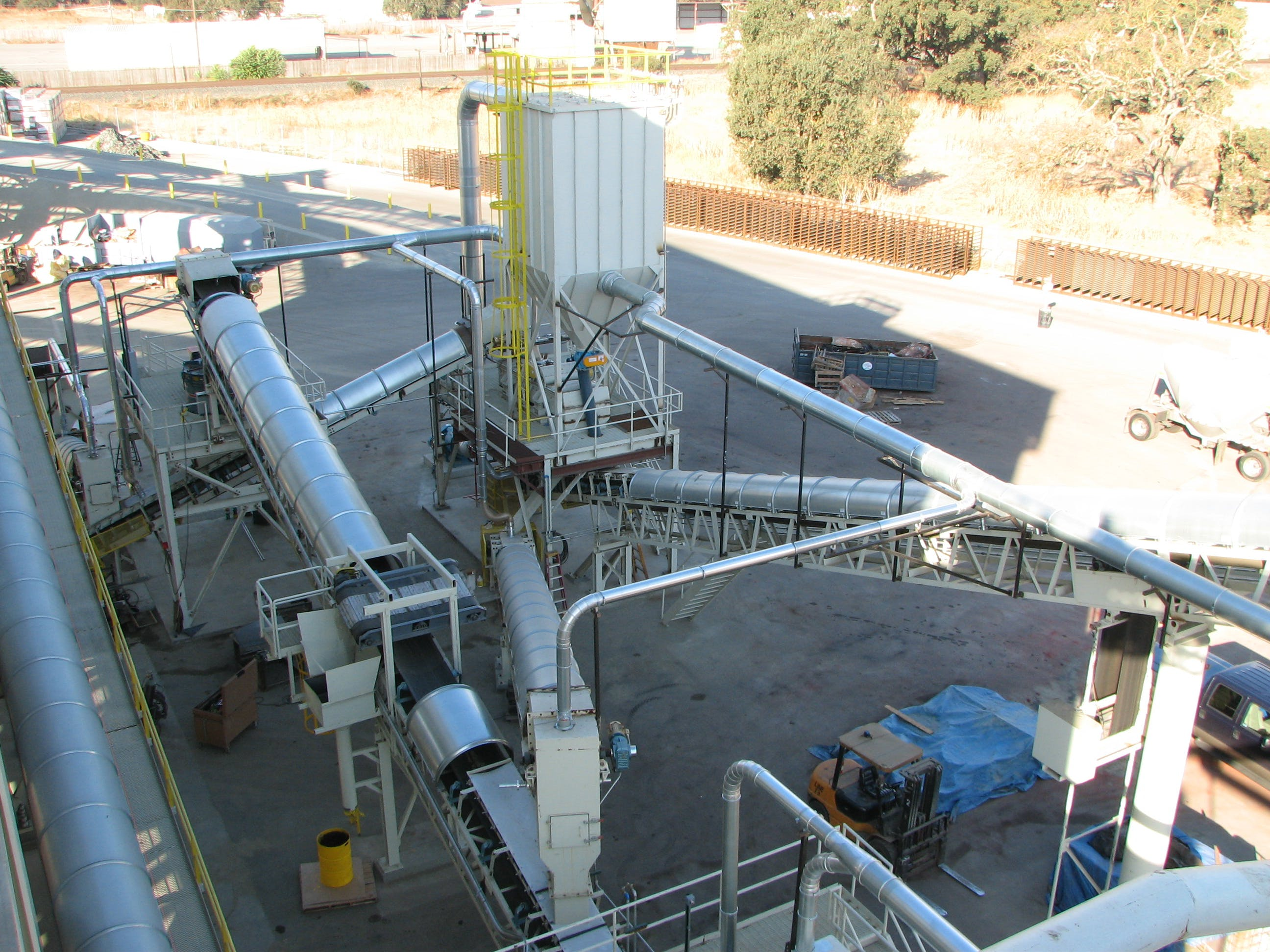 Large collector Dust collector sold by EAS Corp