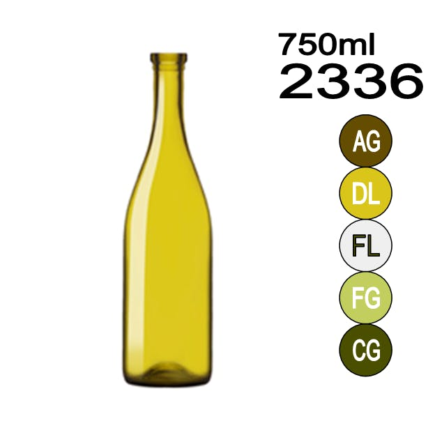 #2336 Wine bottle sold by Wholesale Bottles USA