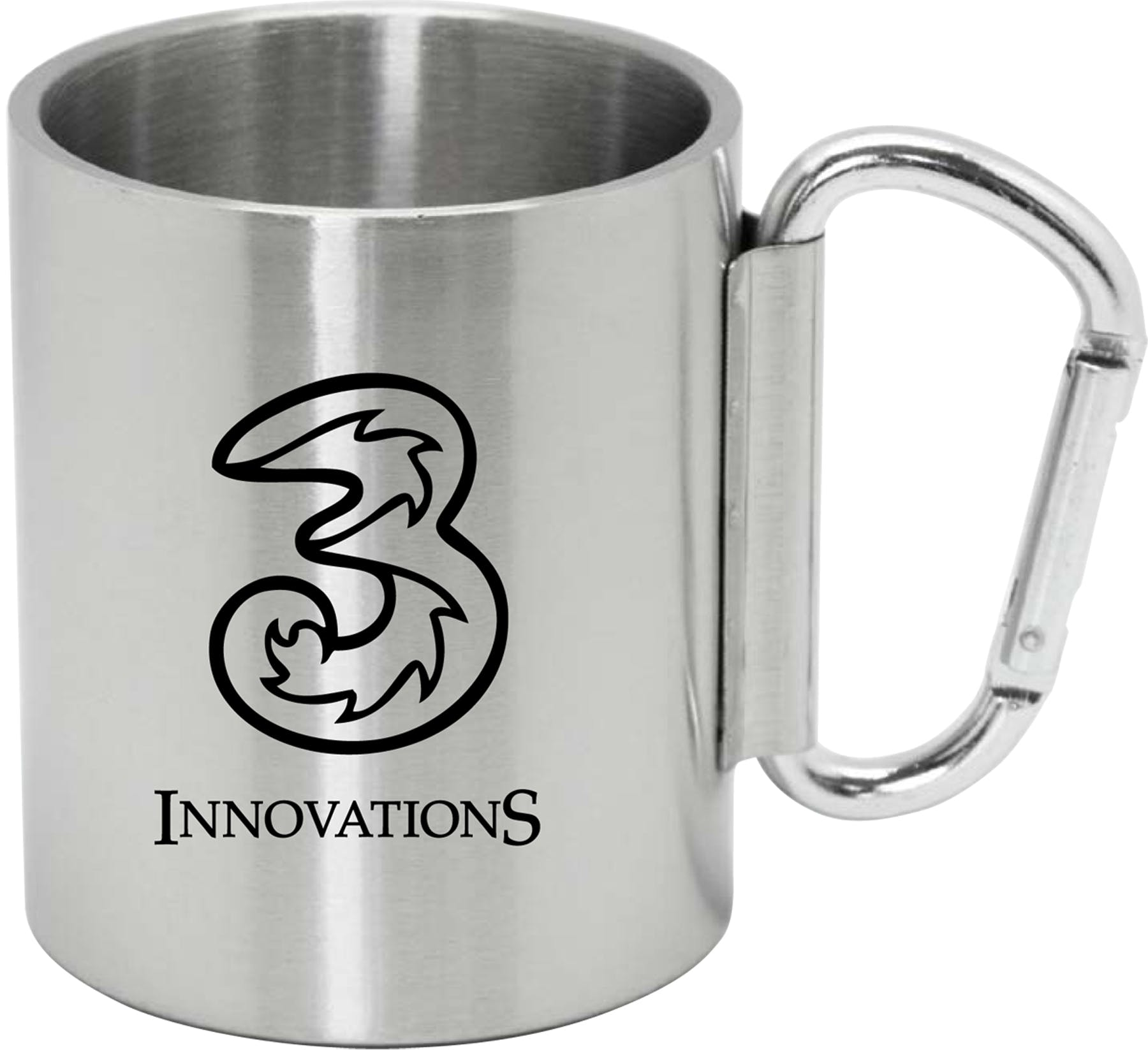 SSG Carabiner 9 oz   Stainless steel mug sold by Brewsuit.com