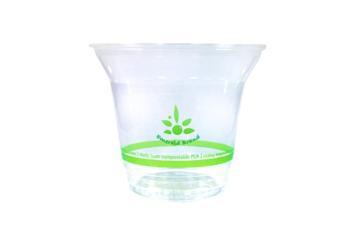 9 oz Compostable Cold Cup Disposable cup sold by Emerald Brand