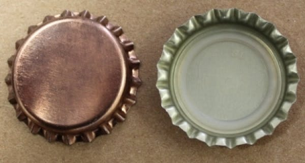 Copper (Oxygen Barrier) - Standard Colored Bottle Caps - sold by Brewcaps