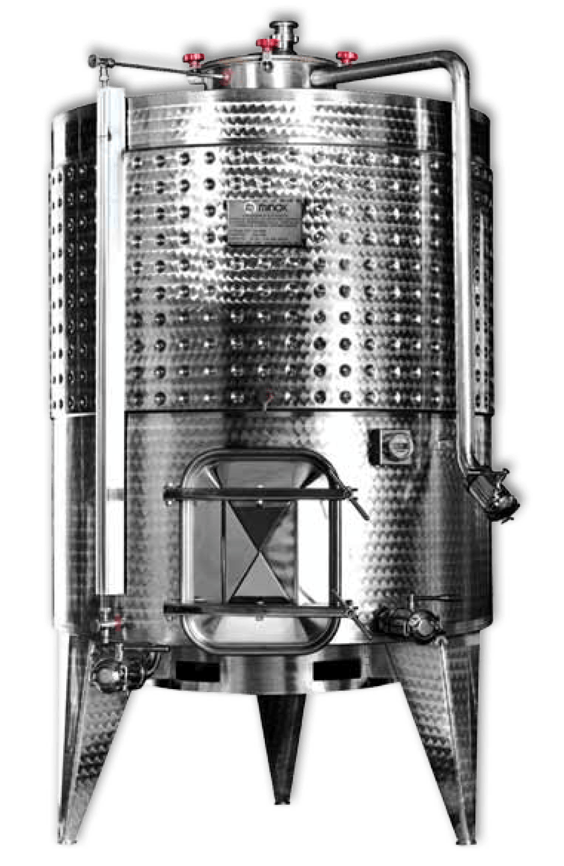 Variable Capacity / Conical Bottom Wine tank sold by Filter Process & Supply