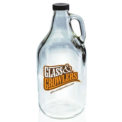 64oz Flint Growler Growler sold by Glass and Growlers