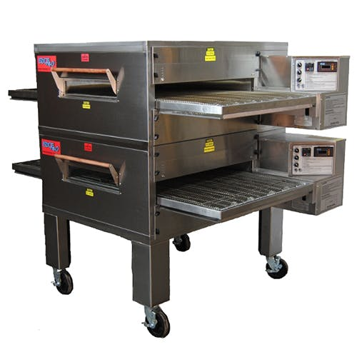 EDGE 40 Series Double-Stack Gas Conveyor Pizza Oven Commercial oven sold by Pizza Solutions