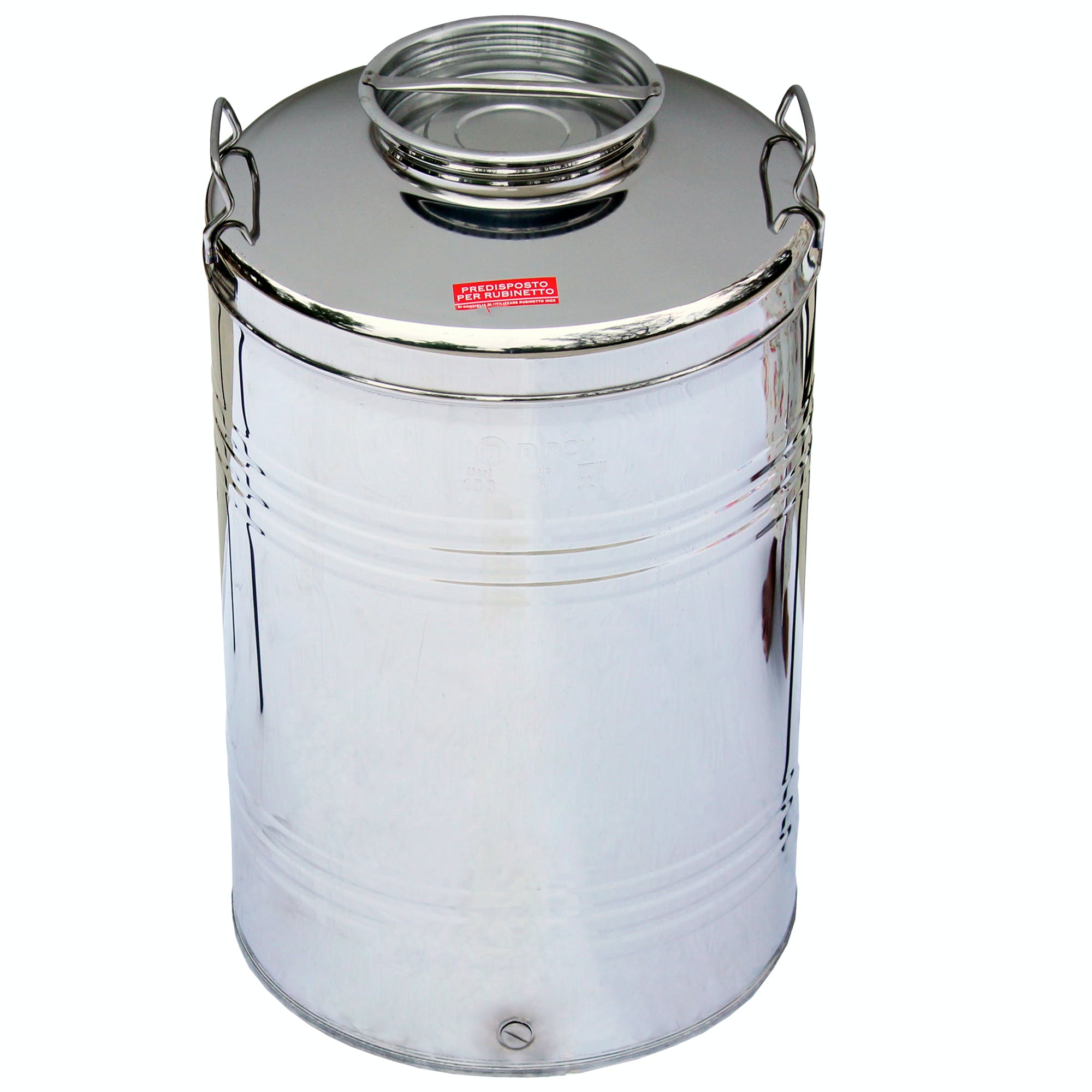 Italian Made Stainless Steel Fusti-100 Liters Steel fusto sold by M5 Corporation
