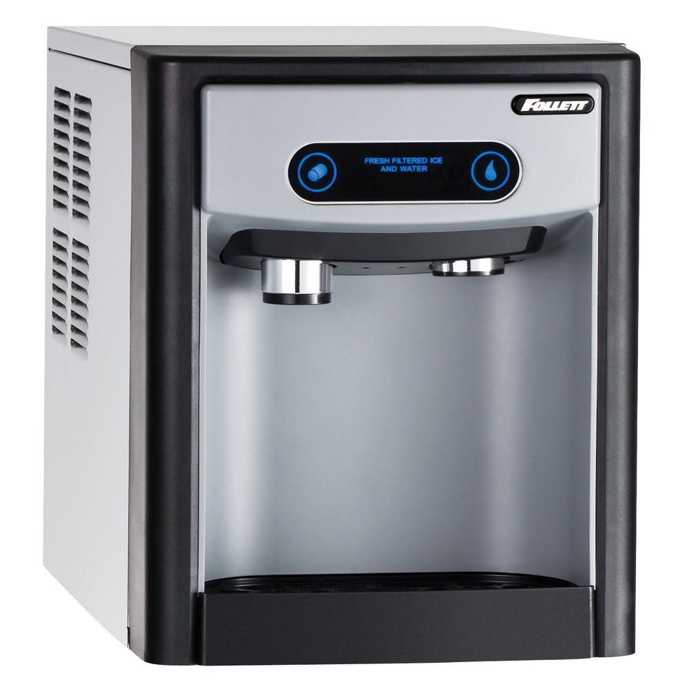 Follett 7CI100A 7 Series Air Cooled Countertop Ice Maker and Water Dispenser with 7 lb. Storage Capacity - 115V - sold by WebstaurantStore