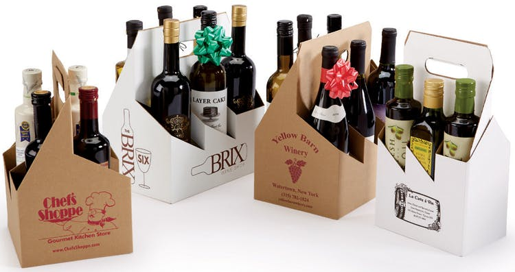 Bottle Carriers Wine packaging sold by The Packaging Source, Inc.