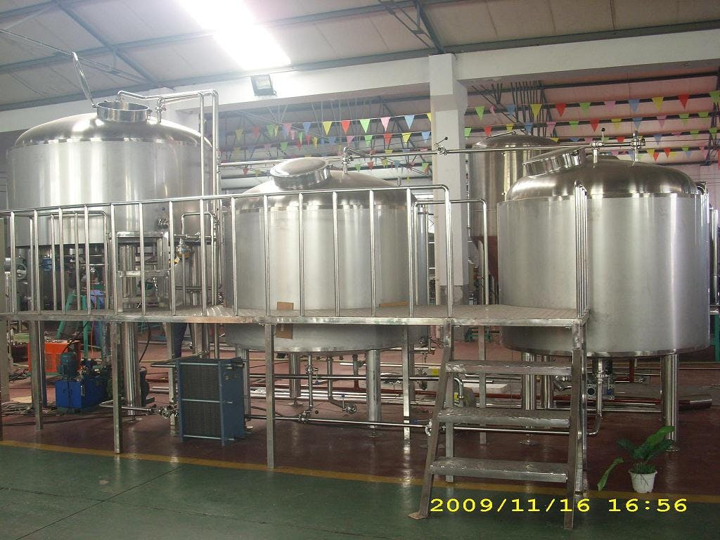 15 BBL Brewhouse - 30 BBL Brewhouse - sold by Asia Pacific Packaging