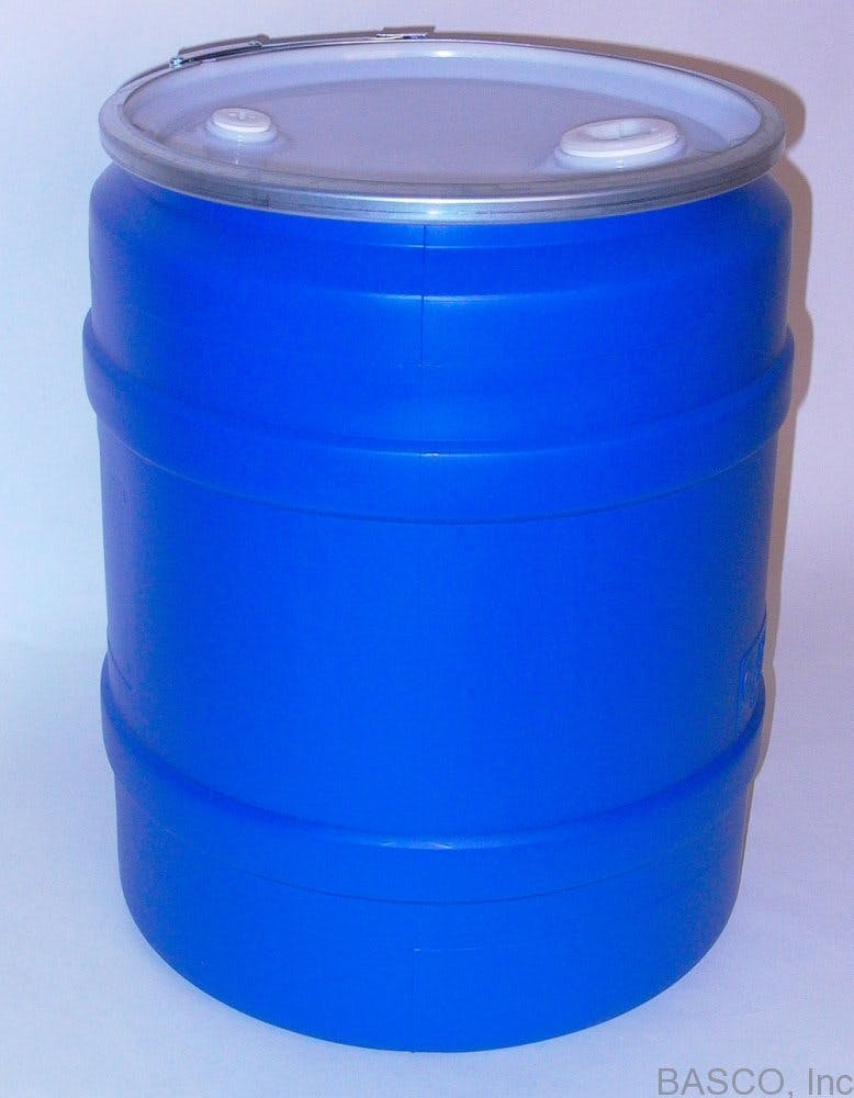 30 Gallon Blue Food Storage Container Drum sold by BASCO