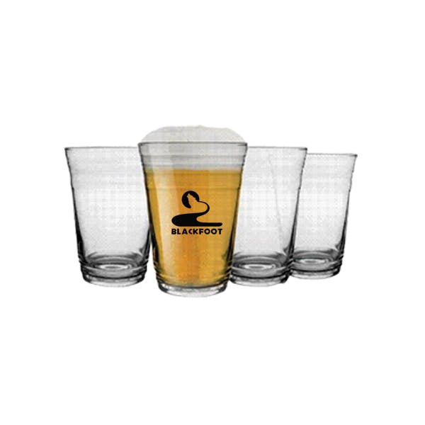 16 oz. glass Party Cup Beer glass sold by MicrobrewMarketing.com