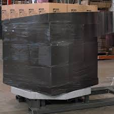 Black Opaque Stretch Film  Stretch wrapper sold by Ameripak, Inc.