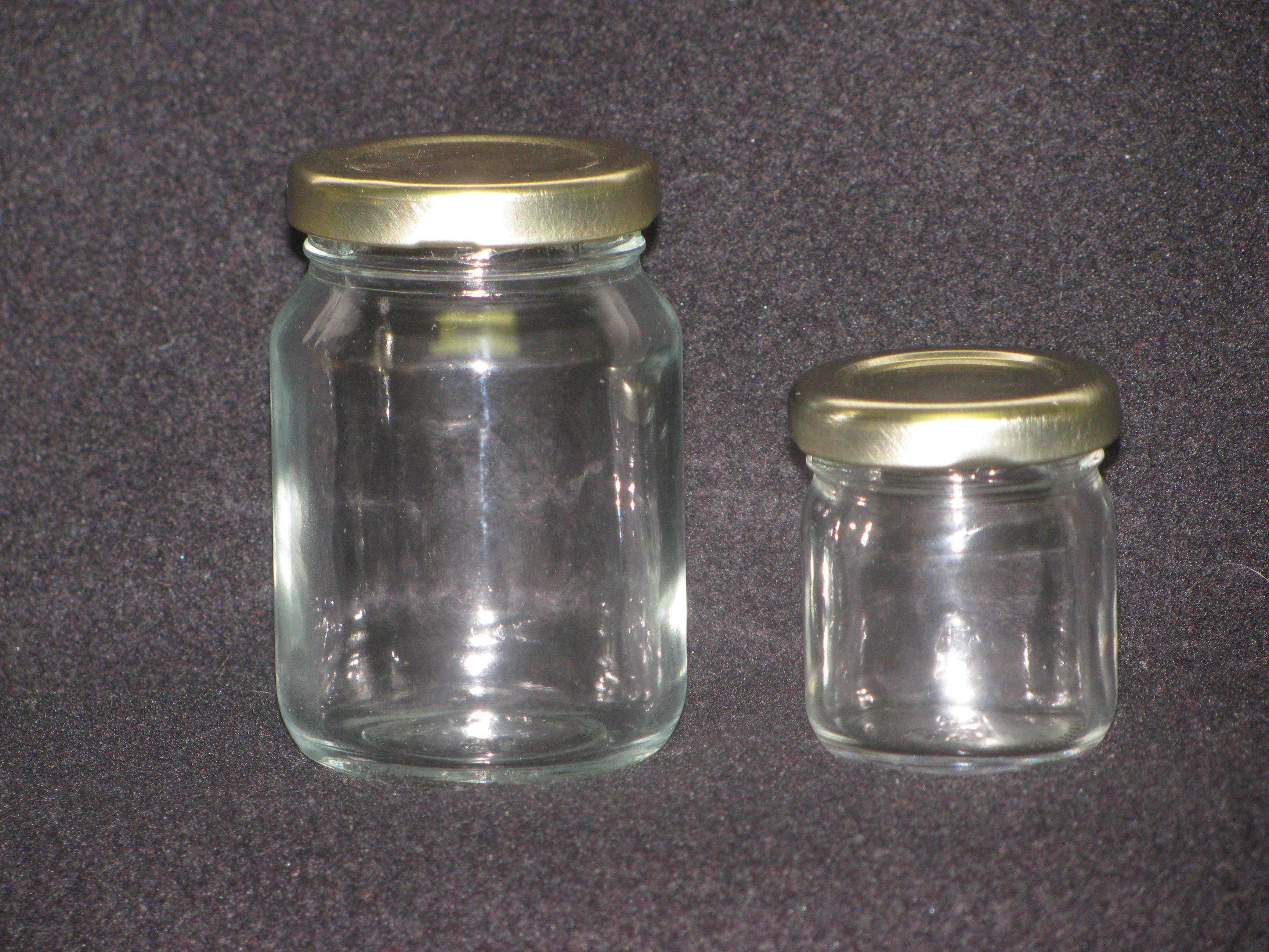 Mini Jars Glass Jar sold by Richards Packaging, Inc