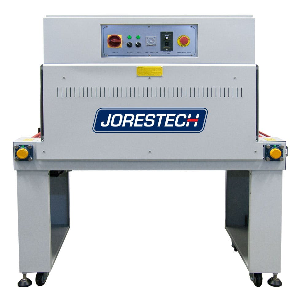 "JORESTECH™ 40"" x 17 1/2"" x 10"" Shrink Tunnel (E-TUN-4525) Shrink tunnel sold by Technopack Corporation"