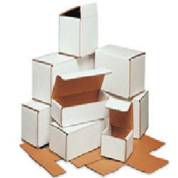 White Corrugated Boxes Custom box sold by Ameripak, Inc.