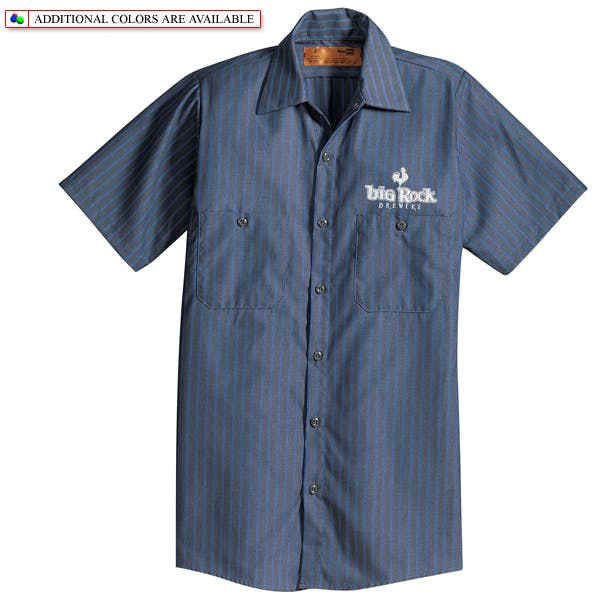 Cornerstone (Red Kap) Industrial Work Shirt Promotional shirt sold by MicrobrewMarketing.com