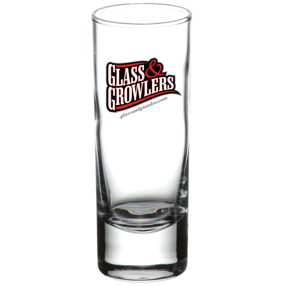 Cordial Shooter 2.5 oz Shot glass sold by Glass and Growlers