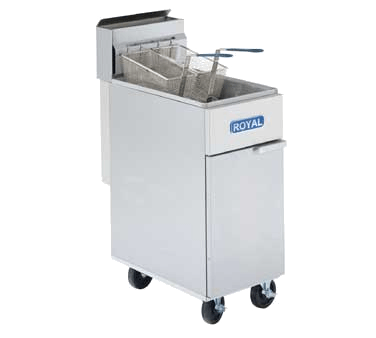 Royal RFT-50 Commercial fryer sold by Ginos FM Corp