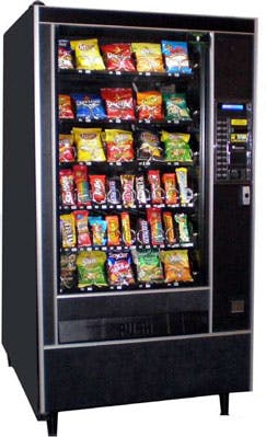 Automatic Products 113 snack machine Vending machine sold by Vending World