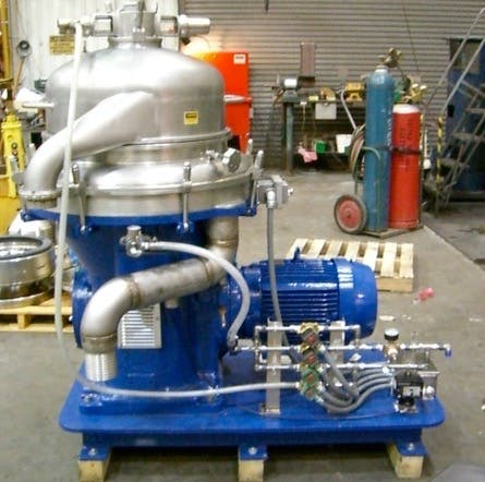 Reconditioned Alfa Laval and GEA Westfalia Disk Stack Centrifuges