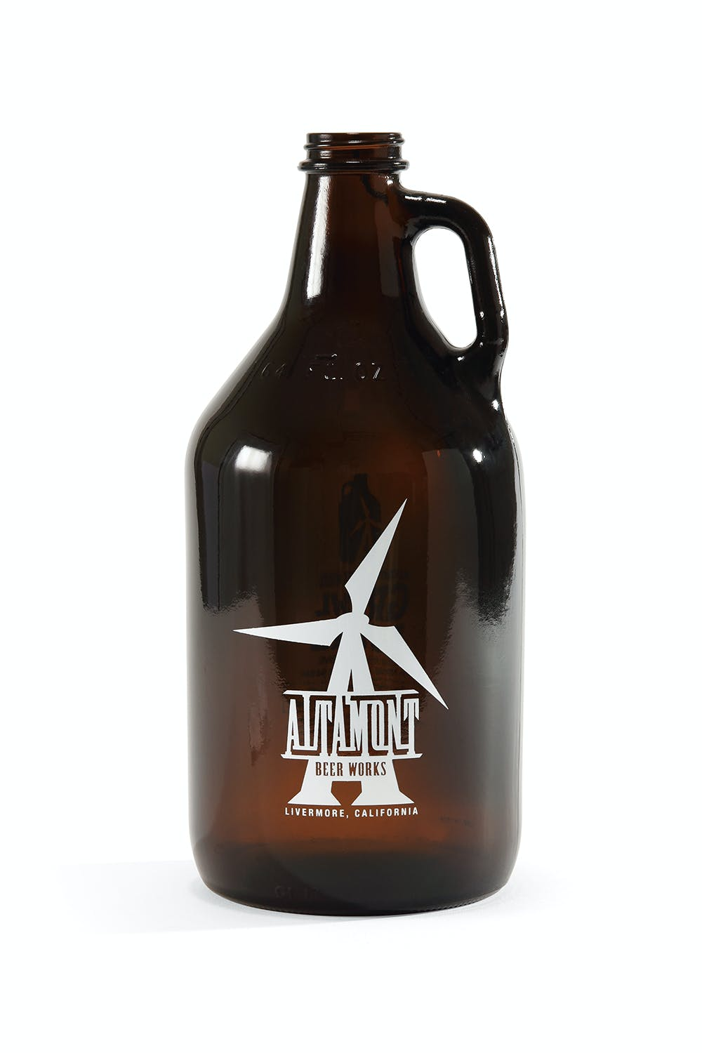 Screen Printed Growlers Beer bottle sold by Bottleprint
