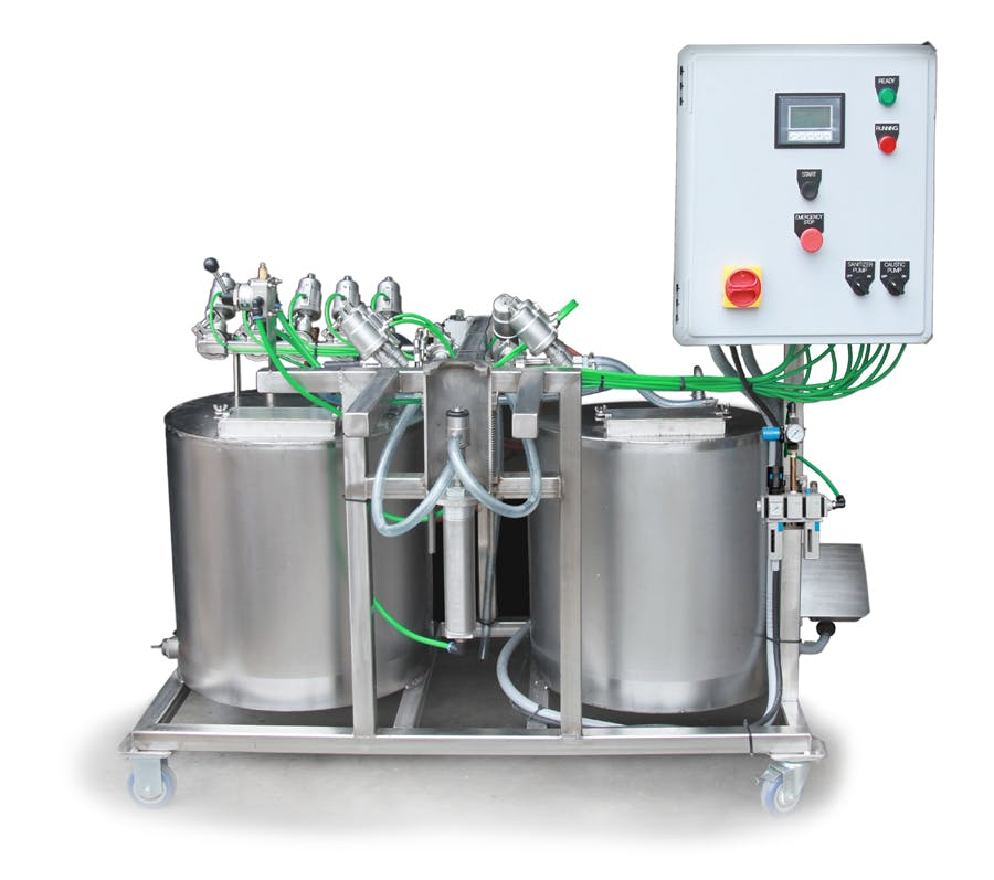 GSS Semi-Automatic Keg Washer — Single Head Keg washer sold by Global Stainless Systems Inc.