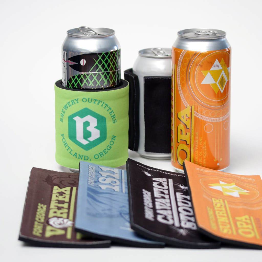 Slap Wrap & Go! Koozie sold by Brewery Outfitters