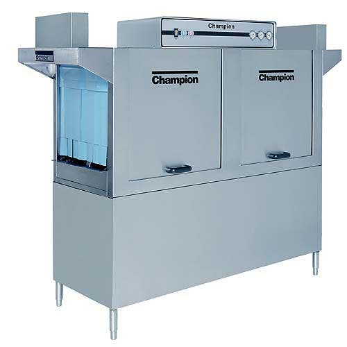 Champion - 64 277 Rack/Hr High Temp Conveyor Dishwasher Commercial dishwasher sold by Food Service Warehouse
