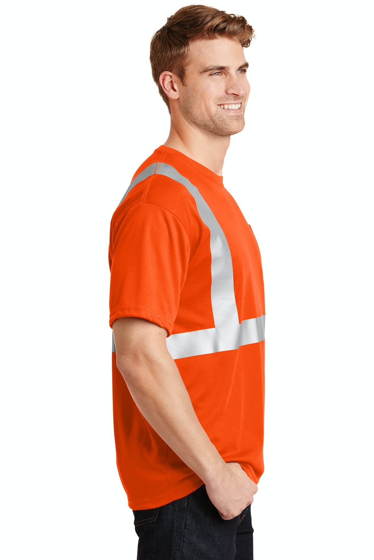 CornerStone® - ANSI 107 Class 2 Safety T-Shirt - sold by PRINT CITY GRAPHICS, INC