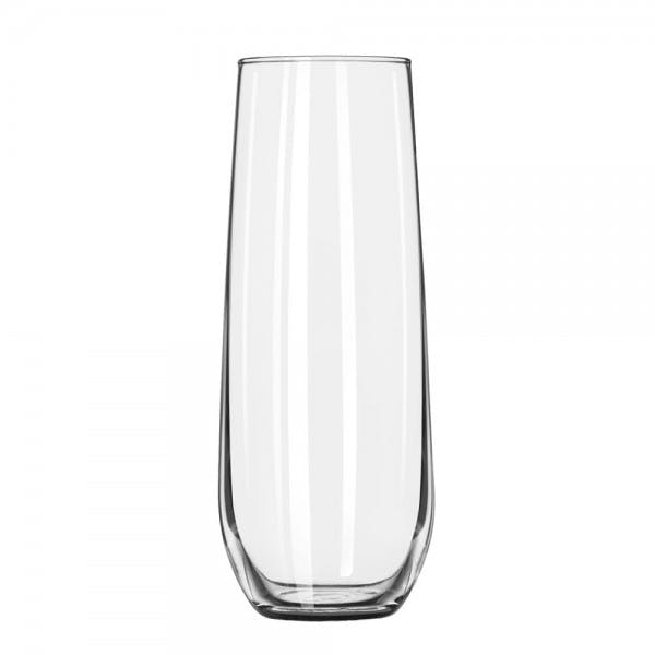 8.5 oz. Stemless Champagne Flute Glass