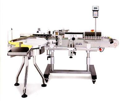 NEW CVC 330 PRESSURE SENSITIVE VIAL LABELER Bottle labeler sold by Union Standard Equipment Co