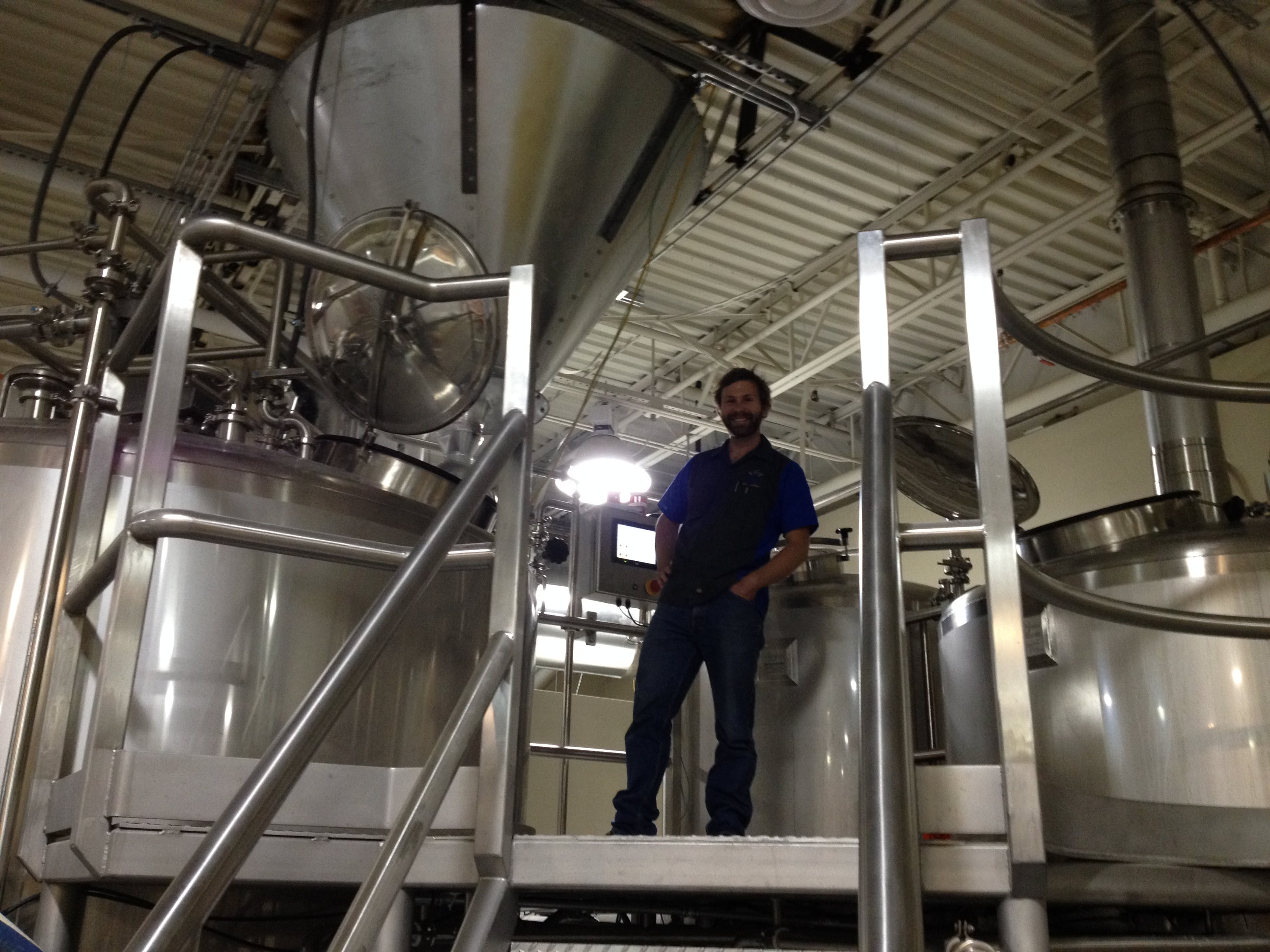 20 BBL Brewhouse Brewhouse sold by W. M. Sprinkman