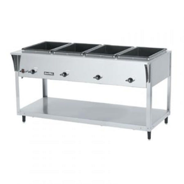 ServeWell® SL 120v 4 Well Hot Food Table - V-VOL38214
