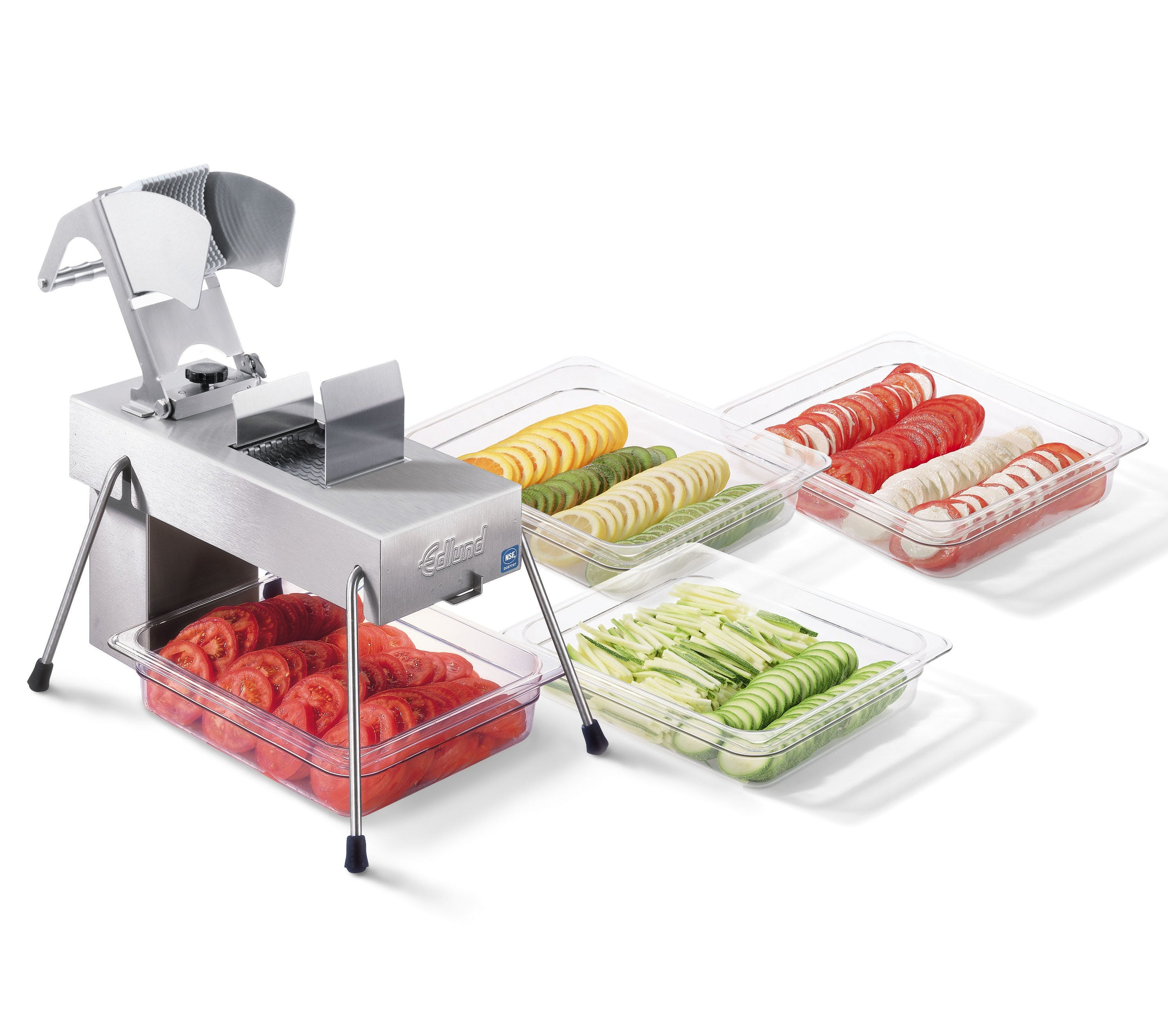 Edlund 358/115V Electric Fruit and Vegetable Slicer W/ 3/8 In Blade Assembly Vegetable cutter and dicer sold by Mission Restaurant Supply