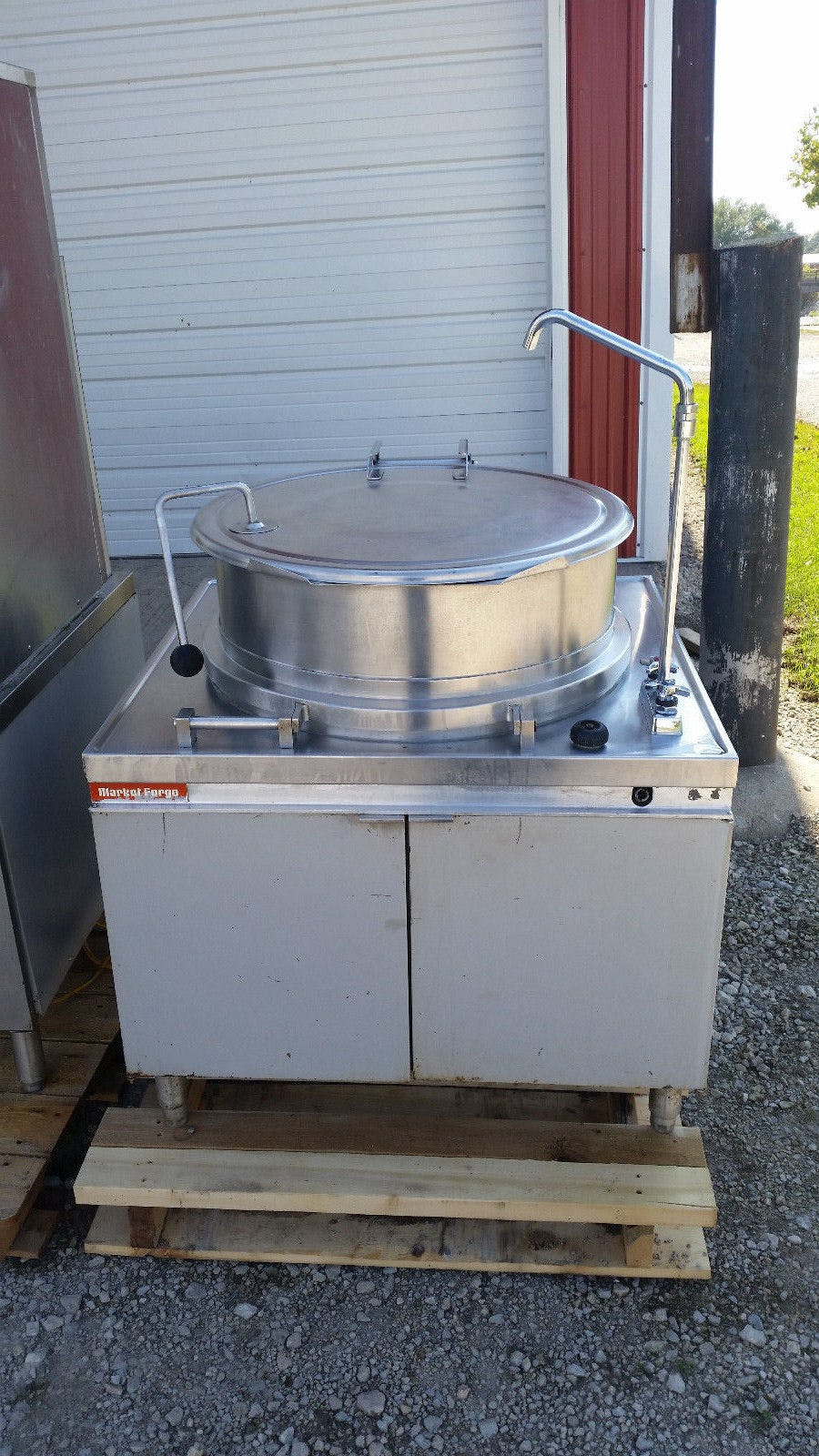 Market Forge Direct Steam Kettles MT40 40 Gal Need Power Source - sold by Jak's Restaurant Supply