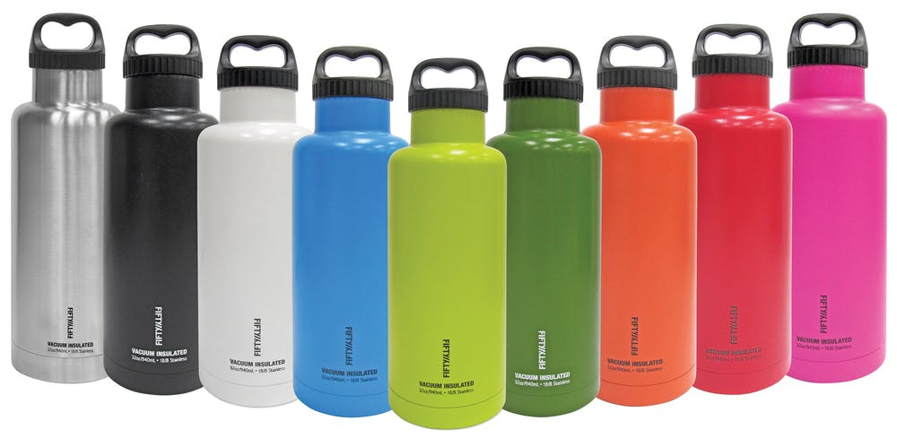 32oz - Insulated Growler Growler sold by Fifty/Fifty Bottles (Icy-Hot Hydration, LLC)