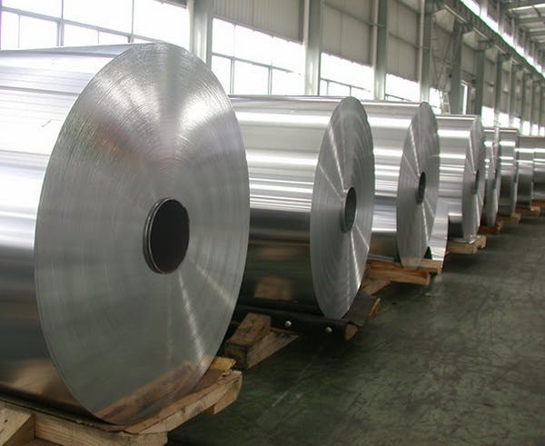 Aluminum coil and aluminum foil from Alnan Aluminum coil sold by Vantage Point Group Holding