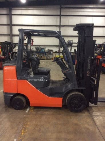 2012 Toyota 8FGCU32 Forklift sold by Heavy Lift Sales, Rentals & Leasing