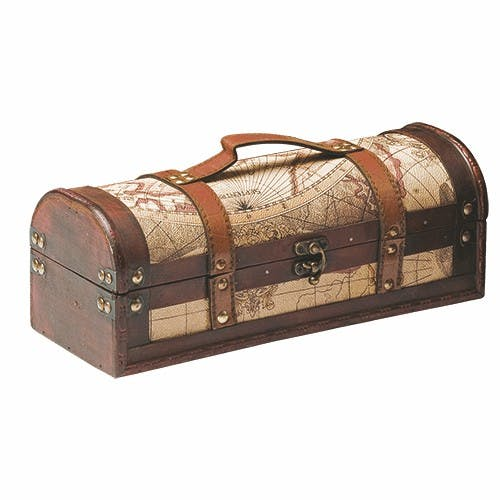 Old World Wine Box (Item # QBGLL-KAMOO) Wine box sold by InkEasy