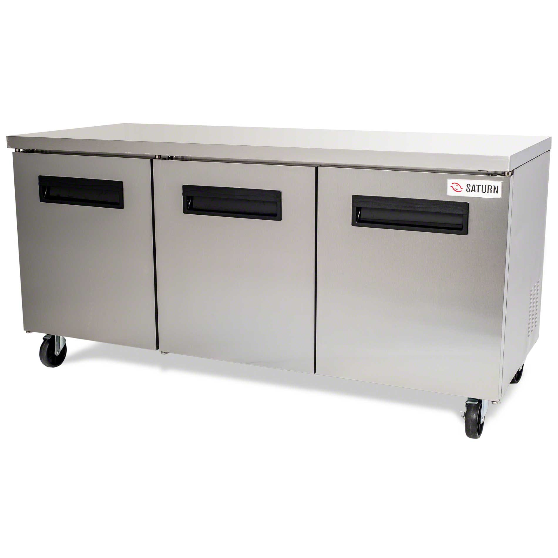 """Saturn Equipment - USC-72 72"""" Undercounter Refrigerator - S Series - sold by Food Service Warehouse"""