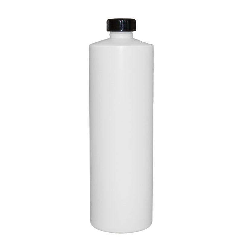 32 oz Natural Plastic bottle with foam lined cap Plastic bottle sold by Glass Bottle Outlet