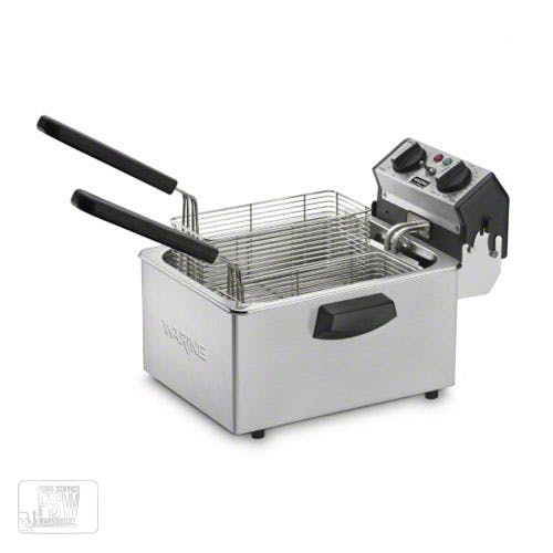 Waring (WDF75B) - 8.5 Lb Electric Countertop Fryer Commercial fryer sold by Food Service Warehouse