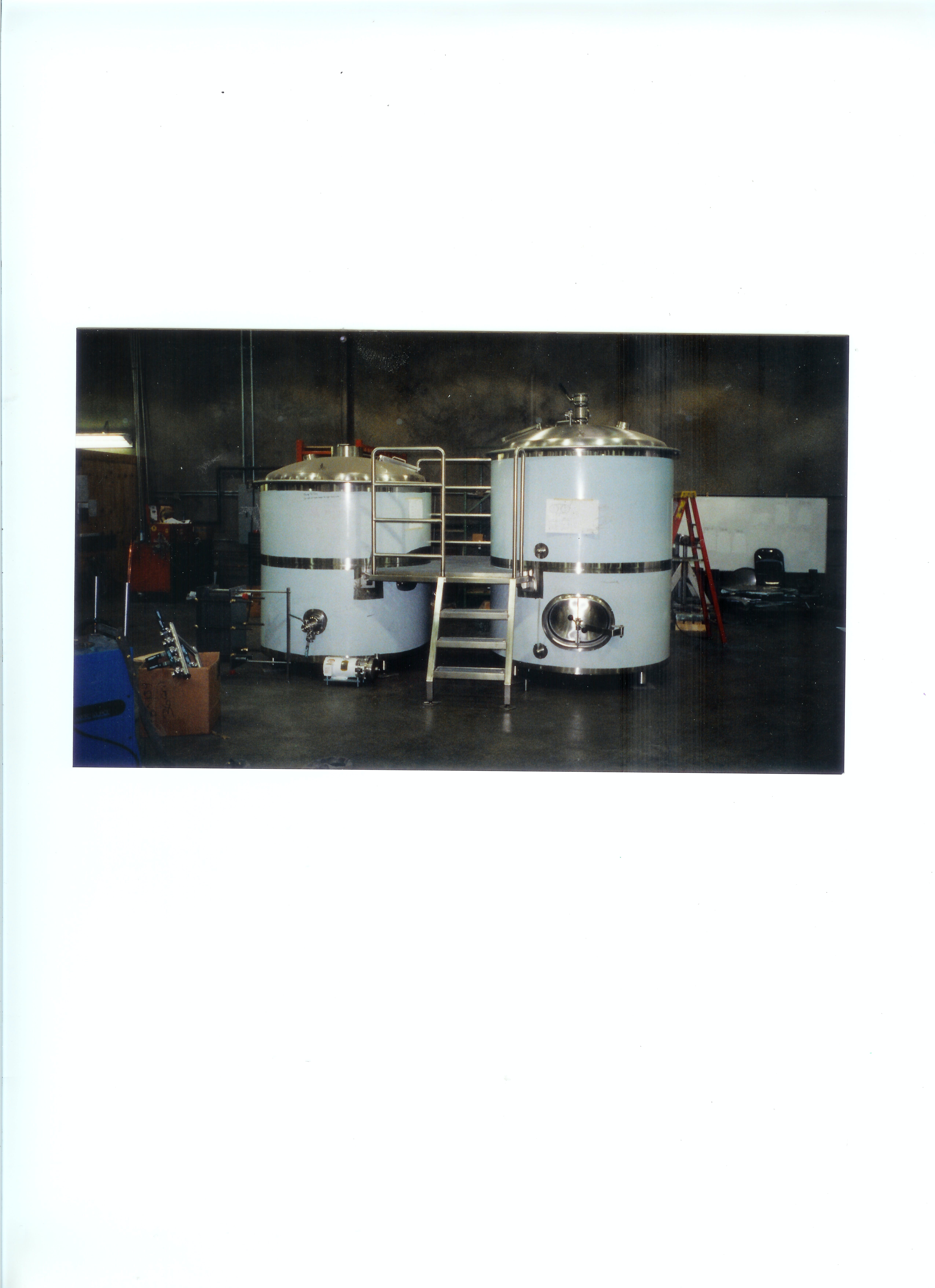30 bbl - sold by Wine Country Stainless Steel Tank Co