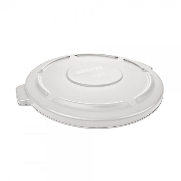 Brute® 10 gal. White Round Plastic Trash Can Lid